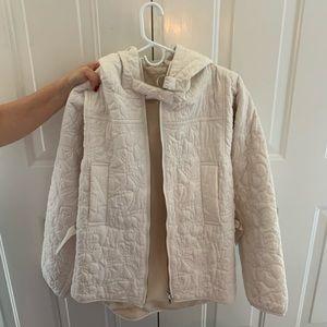 Nuala Puma White Jacket